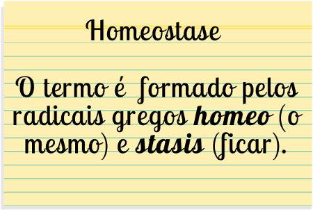 O termo homeostase foi criado por Walter Cannon