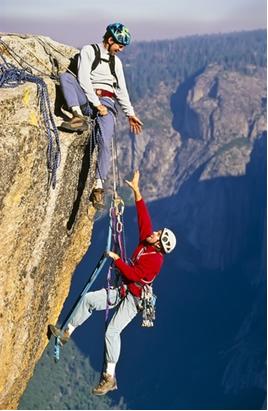 Os alpinistas correm o risco de ter alcalose branda