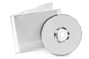 Capa transparente de CD feita de poliestireno