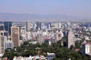 Cidade do México, um dos centros mais urbanizados do mundo