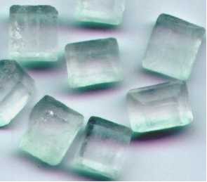 Cristais de açúcar vistos ao microscópio.