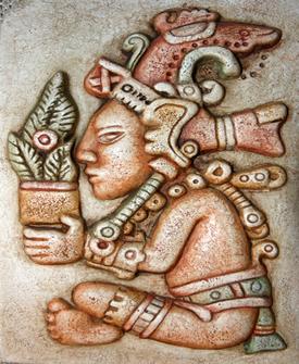 Deus maia Jum Kaaah, divindade ligada à vida