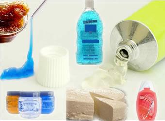 Alguns exemplos de coloides gel.