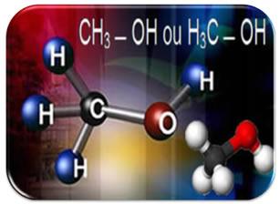 Fórmulas químicas do metanol