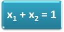 A soma das frações molares é igual a 1
