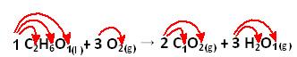 Cálculo da quantidade de átomos por meio dos índices e dos coeficientes da equação