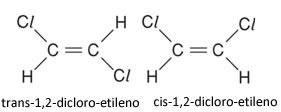 Nomes dos isômeros cis-trans