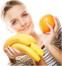 Analogia com laranjas e bananas
