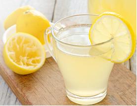 Quanto mais água for acrescentada à limonada, menos concentrada ela ficará