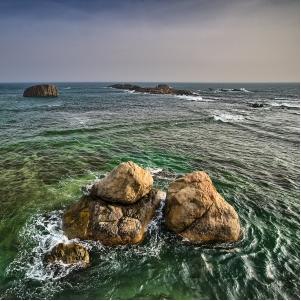 O mar é uma solução líquida