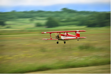 O metanol é usado como combustível de aeromodelos