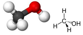 Fórmulas do metanol