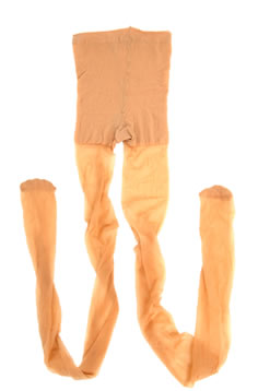 Meia-calça feita de náilon