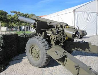 Imagem de obus militar