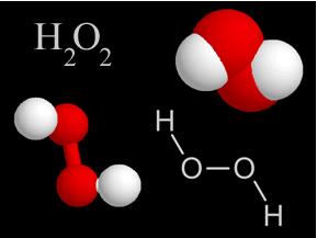 Fórmula do peróxido de hidrogênio