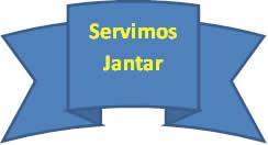 O verbo servir (servimos) encontra-se expresso no presente do indicativo