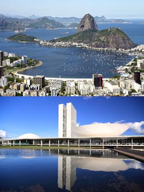 O Rio de Janeiro fica ao nível do mar e Brasília fica acima do nível do mar, por isso a água ferve mais rápido nessa última cidade*