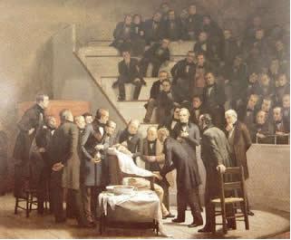 O clorofórmio foi usado como anestésico em cirurgias pela primeira vez em 1847