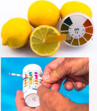 Exemplos de indicadores ácido-base sintéticos