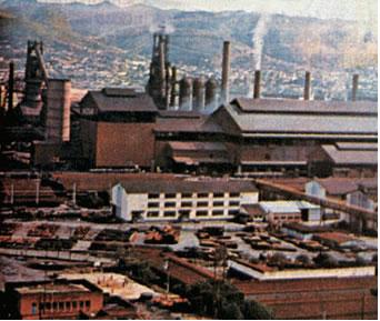 A expansão industrial