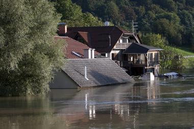 Casas e regiões inteiras podem ficar embaixo d'água