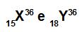 Exemplos de átomos isóbaros