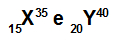 Exemplos de átomos isótonos