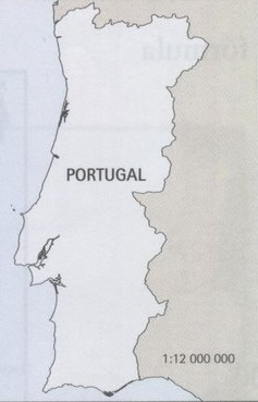 mapa de portugal escala A escala dos mapas   Mundo Educação mapa de portugal escala