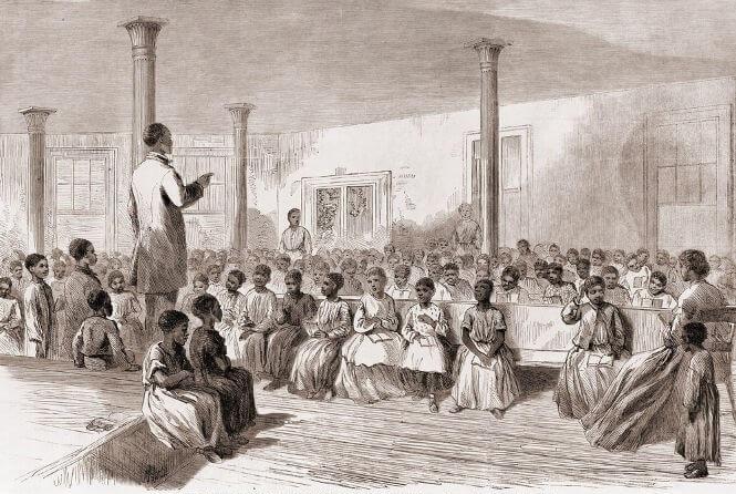 Por meio da Lei do Ventre Livre, os senhores de escravos tinham direito de libertar os filhos de escravos com 8 anos de idade em troca de indenização.
