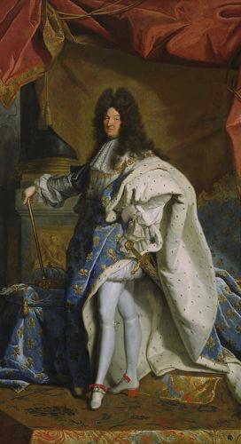 Luís XIV foi um dos grandes símbolos do absolutismo na Europa e reinou na França entre 1643 e 1715.