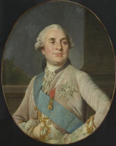 Luís XVI era o rei francês durante a década de 1780.