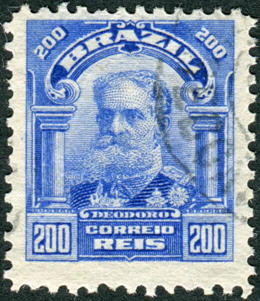 Marechal Deodoro da Fonseca, o primeiro presidente do Brasil, tinha fortes inspirações positivistas.
