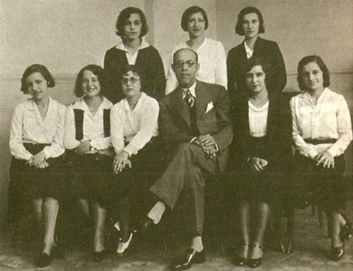 Mário de Andrade foi professor de música no renomado Conservatório Dramático e Musical de São Paulo. Fotografia de 1931