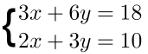 Método da adição, exemplo 2