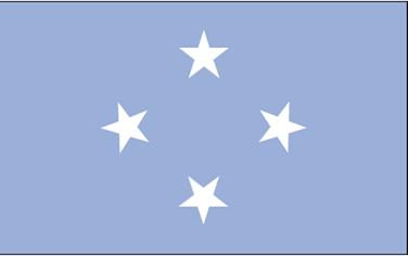 Bandeira da Federação dos Estados da Micronésia
