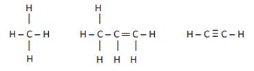 Exemplos de moléculas orgânicas apolares