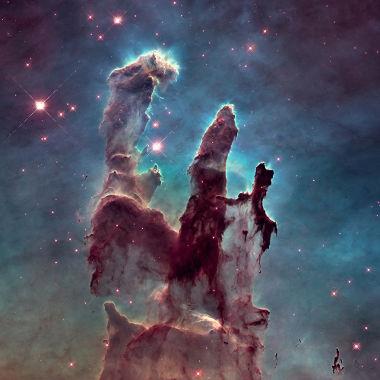 Nebulosa da Águia – 7.000 anos-luz da Terra