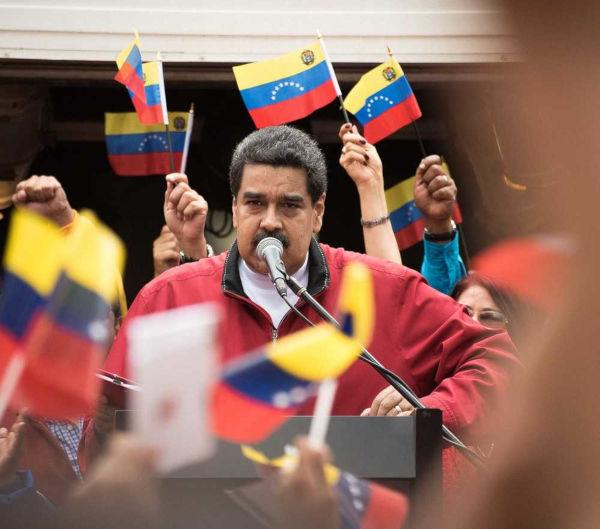 Nicolás Maduro, presidente da Venezuela, enfrenta grande oposição ao seu governo*