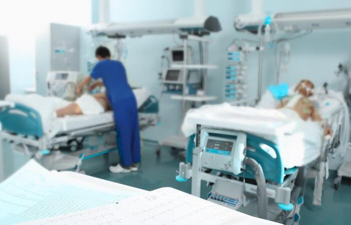 A noradrenalina é usada, por exemplo, em caso de choque séptico.