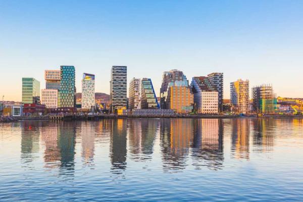 A Noruega é o país com melhor IDH do mundo, o que indica elevado desenvolvimento social.