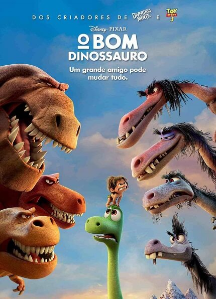 O Bom Dinossauro é um filme de 2016