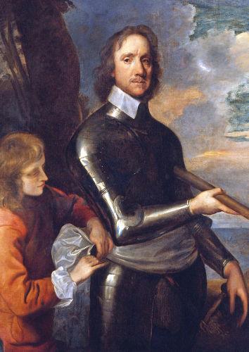 Oliver Cromwell foi ditador da Inglaterra entre 1653 e 1658, em um período conhecido como Commonwealth.