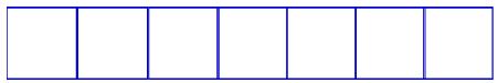 Representação dos orbitais do subnível f