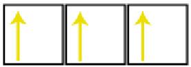 Representação didática dos orbitais de um átomo de nitrogênio
