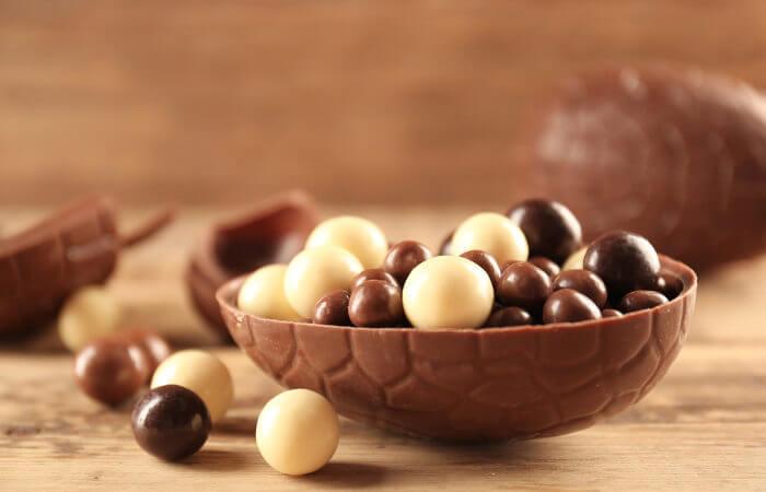 Os chocolates mais saudáveis são aqueles que apresentam maior teor de cacau.