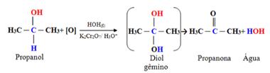 Oxidação do propanol para a obtenção da propanona