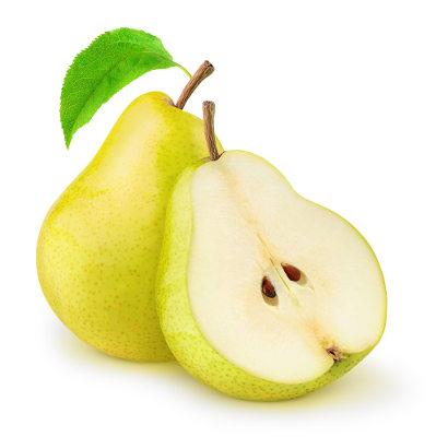 A pera é um exemplo de fruto acessório