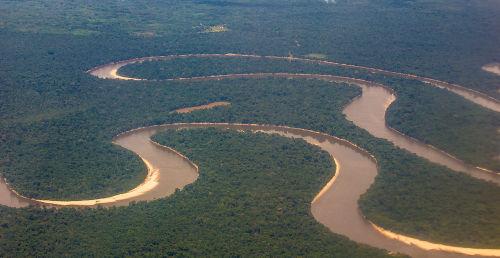 A maioria das planícies brasileiras está localizada em áreas de grandes bacias hidrográficas