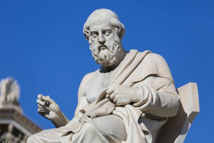 Platão é um dos maiores pensadores da Grécia Antiga.