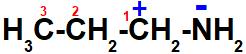 Polos formados na estrutura da propilamina